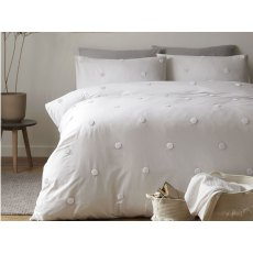 Dot Garden White Duvet Set