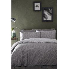 Denton Grey Duvet Set
