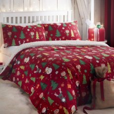 Santa and Elf Single Duvet Set