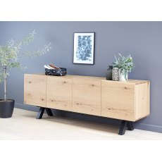 Ollie 4 Section Sideboard