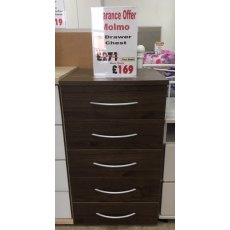 Molmo 5 Drawer Chest