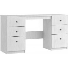 Salsa Double Pedestal Dressing Table