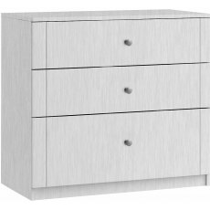 Salsa 3 Drawer Chest with deeper bottom drawer