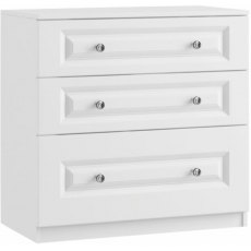 Tango 3 Drawer Chest with deep bottom drawer