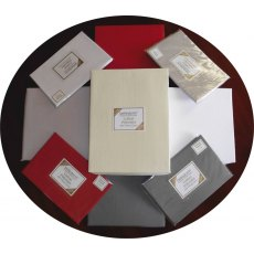 Fitted Cotton Polyester 200 Thread Count Percale Sheets