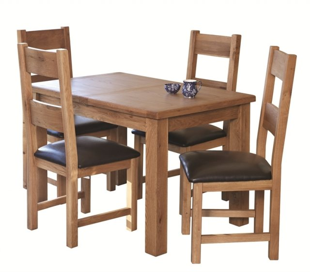 Hampstead 120 160 Extending Dining Table